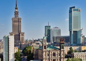 Warszawa panorama
