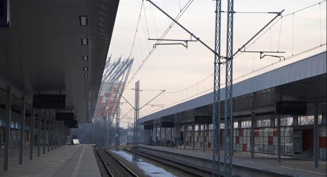 Nowy Dworzec Warszawa Stadion