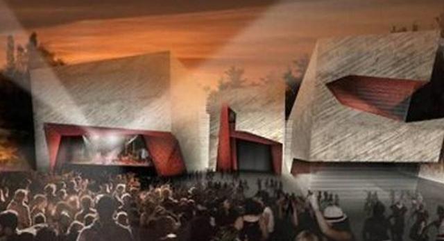 Projekt Sali koncertowej w Toruniu
