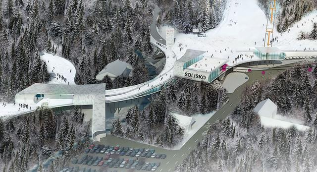 Projekt Solisko Arena w Szczyrku