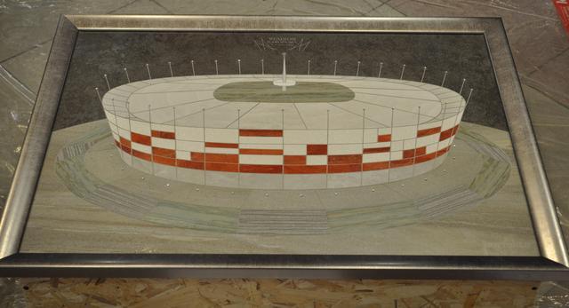 Stadion Narodowy z glazury