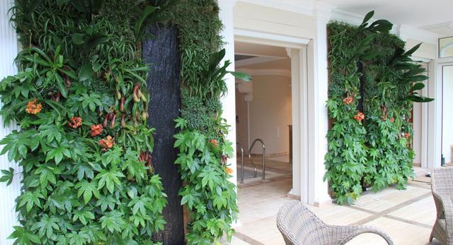 Ogrody pionowe wertykalne w domu