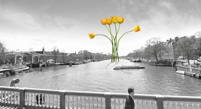 Iconic Bridge - projekt konkursowy ZALEWSKI ARCHITECTURE GROUP/ZAG Iconic Bridge river view.jpg