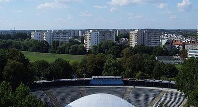 Amfiteatr w Opolu scena festiwalu Opole 2012