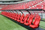 Odlotowe fotele dla trenerów i rezerwowych