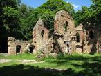 """Zamek """"Stary Książ"""" ruina romantyczna z 1794 roku"""