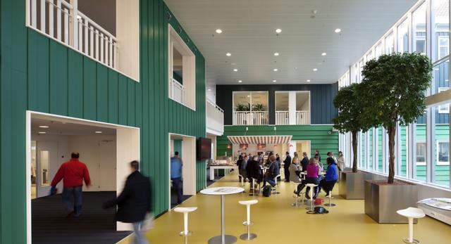 WNĘTRZA. Zaanstad City Hall Holandia 11