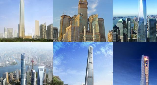 TOP 10 Najwyższych wieżowców świata w budowie