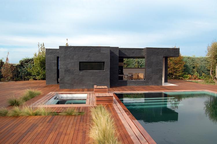 Galeria zdj letni dom z basenem zdj cie nr 1 - Marta gonzalez arquitecto ...