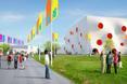 Wizualizacje olimpijskiego centrum strzeleckiego