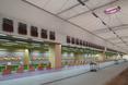 Wnętrze jednego z pawilonów przeznaczone na treningi