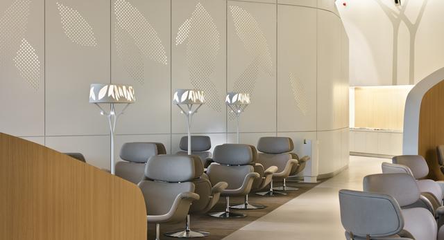 Wnętrza AIR FRANCE BUSINESS LOUNGE 2