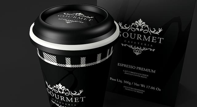 Kawa w designerskim opakowaniu 1