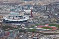 Wieża widziana z lotu ptaka nie komponuje się najlepiej z pozostałymi obiektami wybudowanymi na Igrzyska Olimpijskie w Londynie