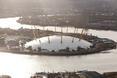 Wielka meduza z wykałaczkami przypłynęła na Półwysep Greenwich w Londynie