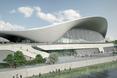 Centrum Sportów Wodnych projektu Zahy Hadid. Projekt niepowtarzalny i prosto z kosmosu