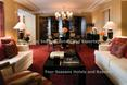 Four Season Hotel. Nowoczesne wnętrze z nutką klasycznego stylu charakterystycznego dla angielskiej architektury