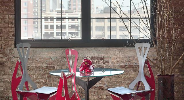Krzesło liść. Nowoczesne meble 8