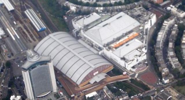 Earsl Court olimpijska hala siatkówki