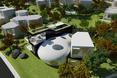 Tak prezentuje się Cocon House w otoczeniu sąsiadów