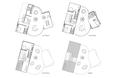 Tak wygląda dokładne rozmieszczenie pomieszczeń w domu jednorodzinnym Cocon House