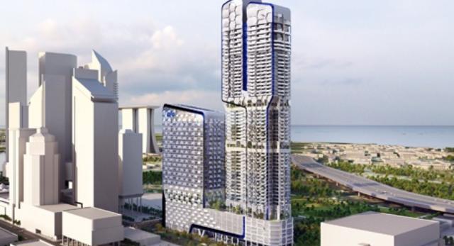 Nowoczesny wieżowiec w Singapurze ma być nowoczesny i energooszczędny
