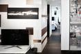 Wnętrze nowoczesnego apartamentu w Mount East Flat