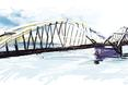 """""""Most dla ludzi"""" w Toruniu. Tak wyglądał podczas tworzenia jego koncepcji"""