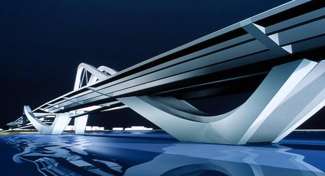 Zaha Hadid zaprojektowała most, który ma bić kolejne rekordy w świecie architektury, znowu jej się udało spełnić ten cel