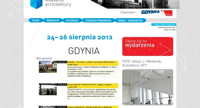 Weekend Architektury Gdynia