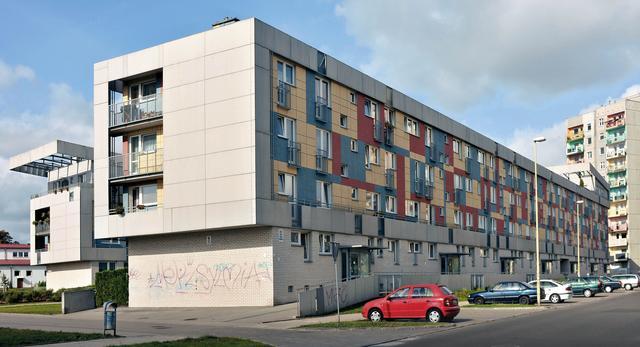 Wielorodzinne domy mieszkalne STBS przy ulicy Kleeberga w Szczecinie