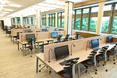 Nowoczesne wykończenie wnętrz Centrum Biblioteczno - Informacyjnego WUM daje możliwości lepszego kształcenia studentów