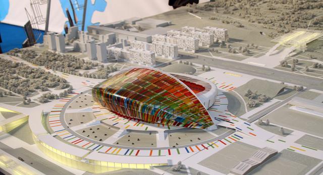 Stadion w Wołogrodzie