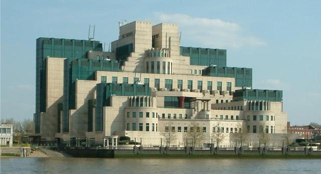 Budynek brytyjskiego wywiadu