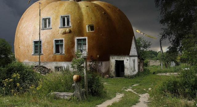 Dom Dynia to idealny przykład architektury na Halloween