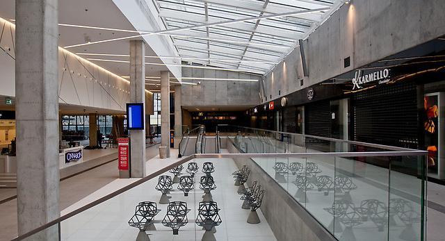 Wnętrza Dworca PKP Katowice