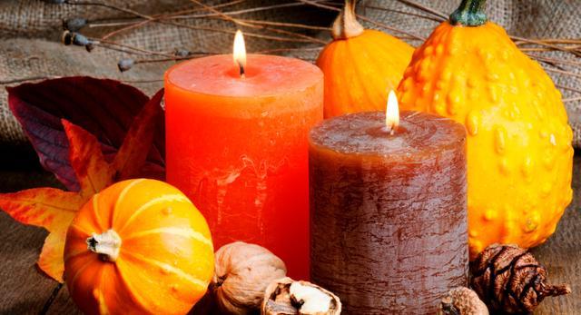 Jesienne kolory znakomicie pasują na Halloween
