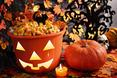 Dynia to najbardziej rozpoznawalny symbol na Halloween dlatego nie może go zabraknąć we wnętrzu