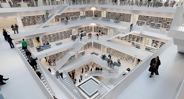 Biblioteka w Stuttgarcie