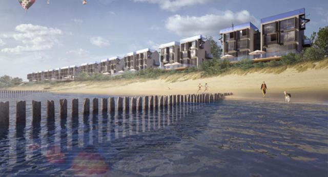 Domki na plaży od HS99