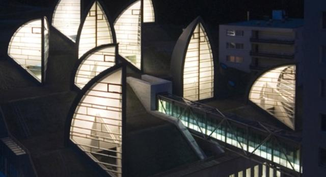 Hotel prosto od Mario Botty musi mieć charakterystyczne elementy