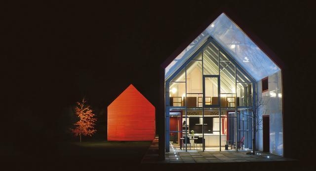 Dom jednorodzinny z ruchomą fasadą