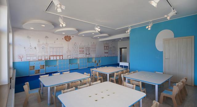Zobacz jak wygląda niesamowita architektura wnętrza przedszkola w Tczewie. Projekt architekci z Pracowni CGL