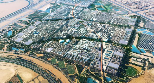 Budowa Masdar City rozpoczęła się w 2006 roku