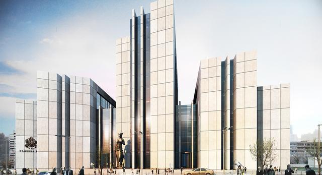 Budynki sądów w Varnie