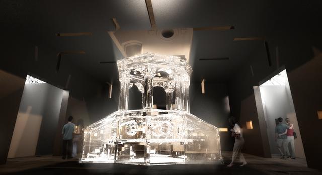 Bryła dawnej synagogi przekształcona na muzeum. Zobaczcie nowy projekt architektury i architektury wnętrz projektu Nizio Design International