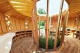 Wnętrze domu z kukurydzą