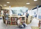 Bryła w stylu nowoczesnym - zobaczcie nowy projekt biblioteki w Mosinie z portfolio UGO Architecture