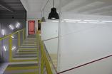 Architektura wnętrz klubu squash. Zobaczcie niesamowite wnętrza w wersji loft  projektu architektów z BUCK ARCHITEKCI