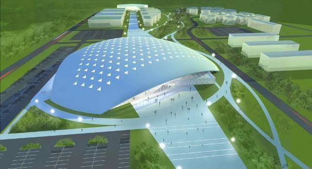 Tak będzie wyglądała bryła nowej hali w Białymstoku!